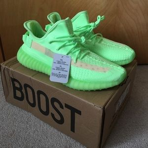 Adidas Yeezy V2 350 Glow in the Dark NEW Size 10